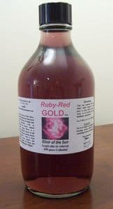 50ppm Ruby~Red GOLD - High Tech Super Gold - Ruby Red Colour - involuntary nerve and muscle tremors