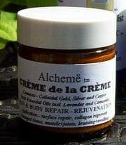 ALCHEME - Creme de la Creme. (medium size 30grms jar) Body and Skin Cream made of Colloidals and...
