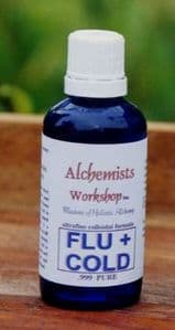 FLU/COLD 100ml. (double quantity of 50ml.) Use on early symptoms and kill it off fast...!
