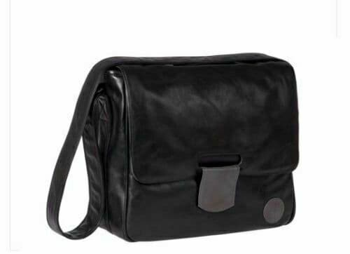 NEW LÄSSIG Baby Change Changing Bag in Black to fit Hauck Pushchair Pram etc.
