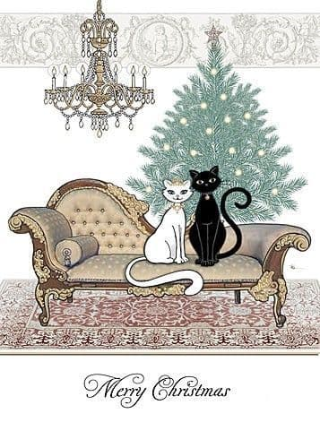 Chaise Tree Greetings Card