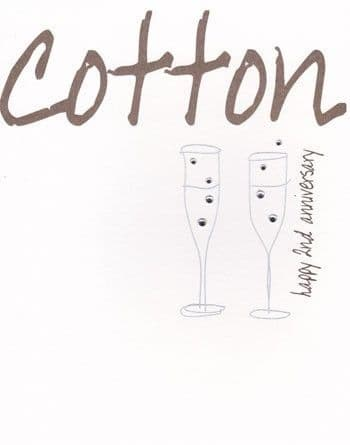 Cotton Greetings Card