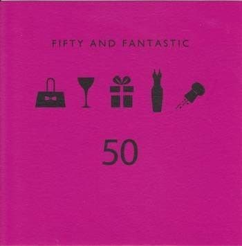 Fifty and Fantastic Birthday Card