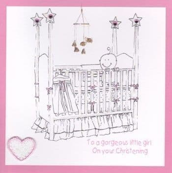 Gorgeous Little Girl Greetings Card