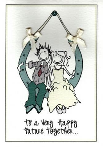 Happy Future Together Greetings Card