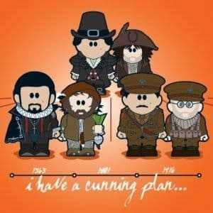 I Have A Cunning Plan Greetings Card