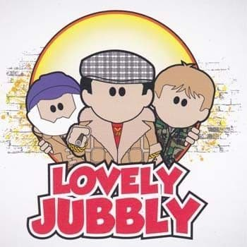 Lovely Jubbly Greetings Card