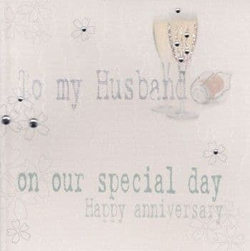 On Our Special Day Greetings Card