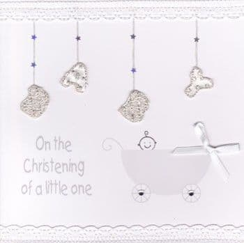 On the Christening of a Little One Greetings Card