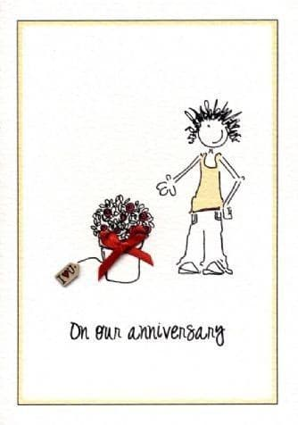 Our Anniversary Greetings Card