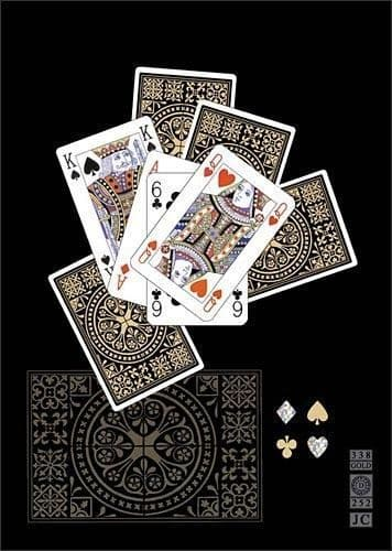 Playing Cards Greetings Card
