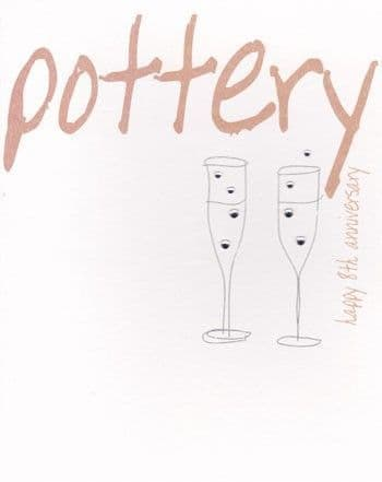 Pottery Greetings Card