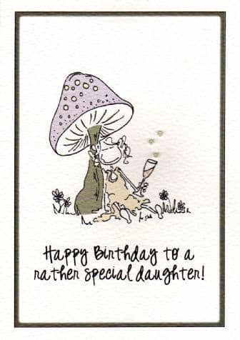 Rather Special Daughter Birthday Card