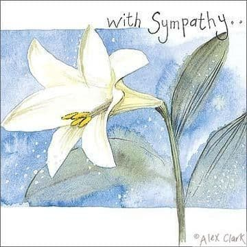 With Sympathy Greetings Card