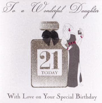 Wonderful Daughter on your Special Birthday Birthday Card