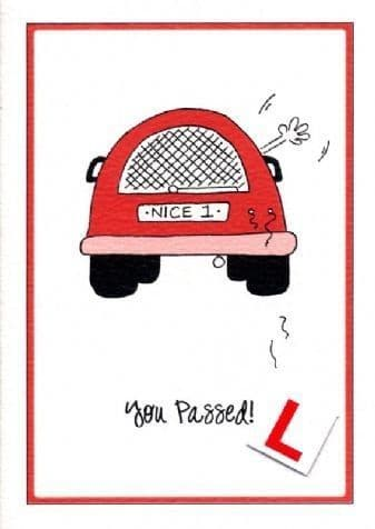 You Passed Greetings Card