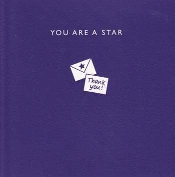 You are a star Greetings Card
