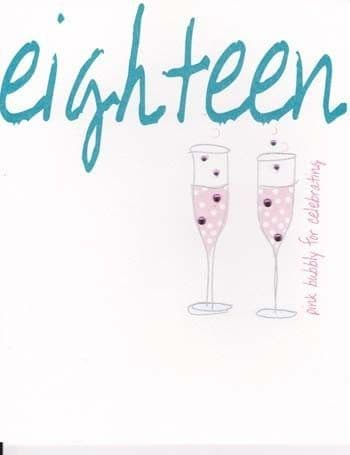 Eighteen Pink Bubbly