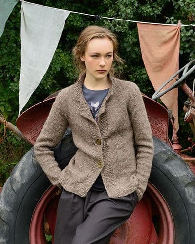 Cyrene Tailored Jacket Knitting Kit