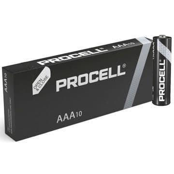 Duracell Procell AAA 1.5V Alkaline Batteries (10 Pack)