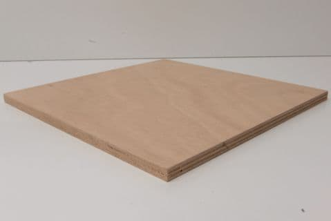 Marine Ply Sheet 1200mm x 300mm Gaboon (Okoume) Throughout BS1088 WBP