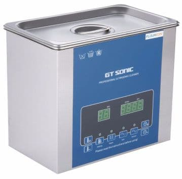 Ultrasonic jewellery Cleaner / bath - Professional with Degassing (3 litre)