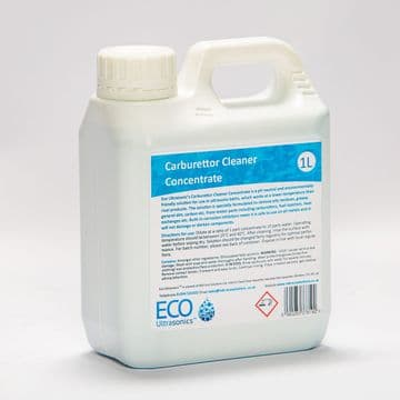 Eco Ultrasonic carburettor cleaner (1 litre) - 10:1