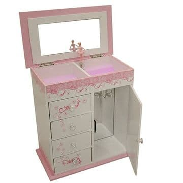 Mele Childrens Ballerina Musical Jewellery Box (1)