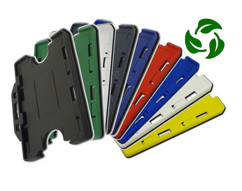 BIODEGRADABLE DOUBLE SIDED ID CARD HOLDER