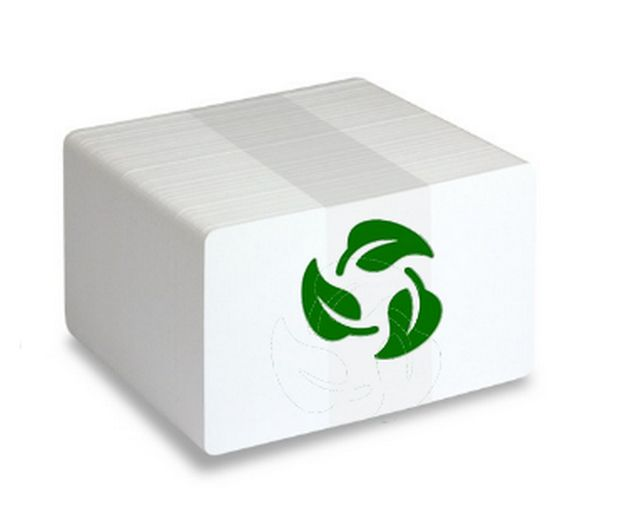 BIODEGRADABLE PVC CARDS Pack of 100