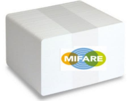 BLANK MIFARE Classic® EV1 4K CARDS Pack of 100