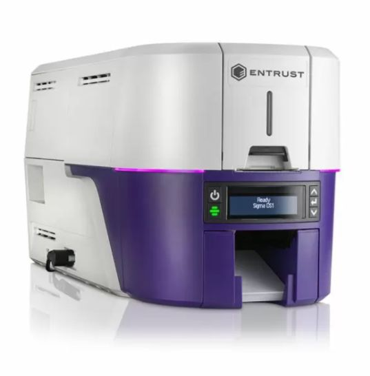 ENTRUST SIGMA DS2 - DOUBLE SIDED PRINTER