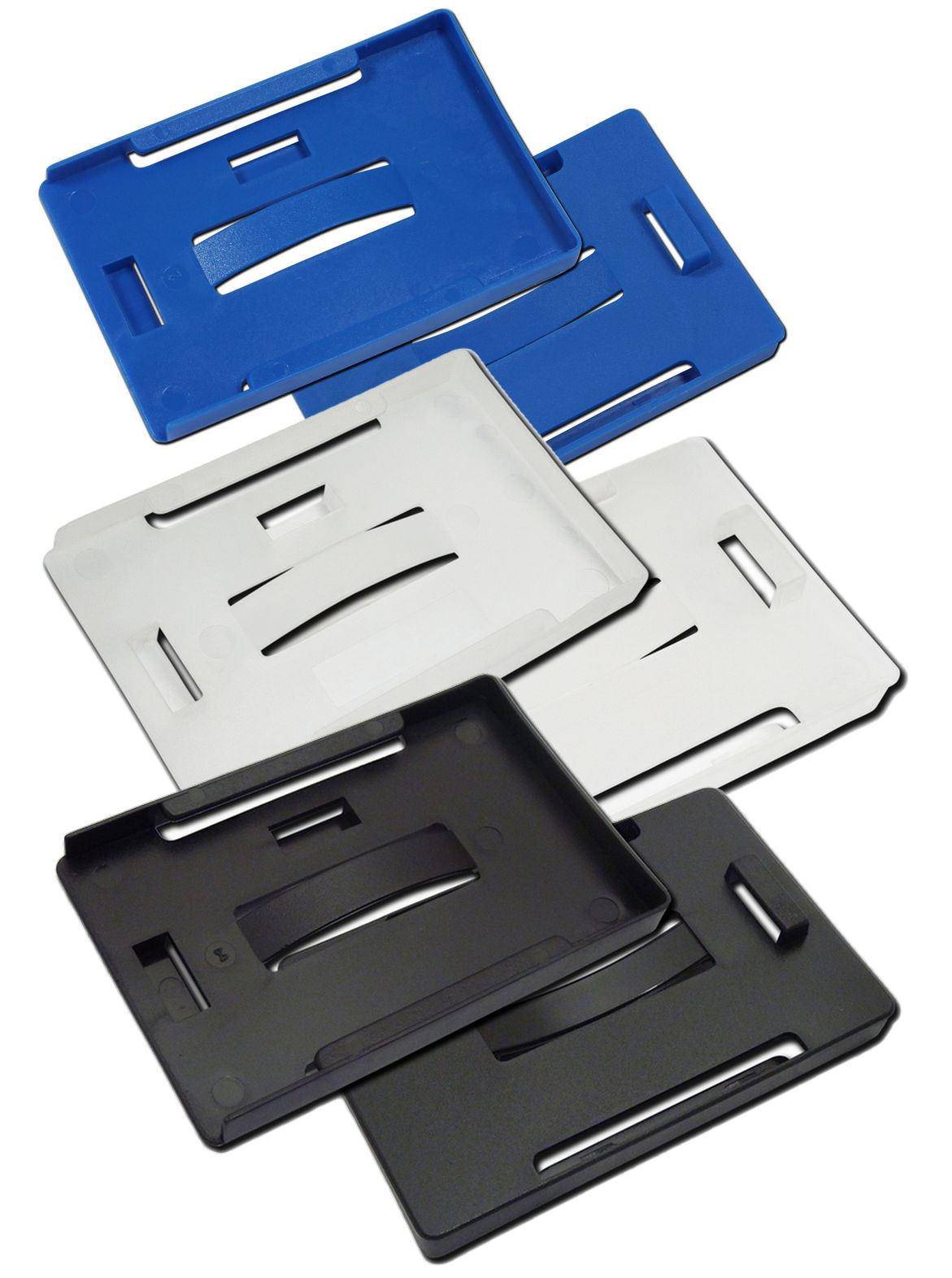 MULTI-CARD ID CARD HOLDER - HORIZONTAL/VERTICAL ALL IN ONE