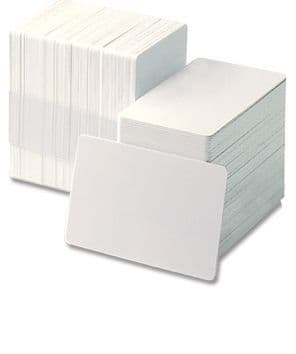 Self Adhesive Backed PVC Blank 86 x 54mm Pack of 100