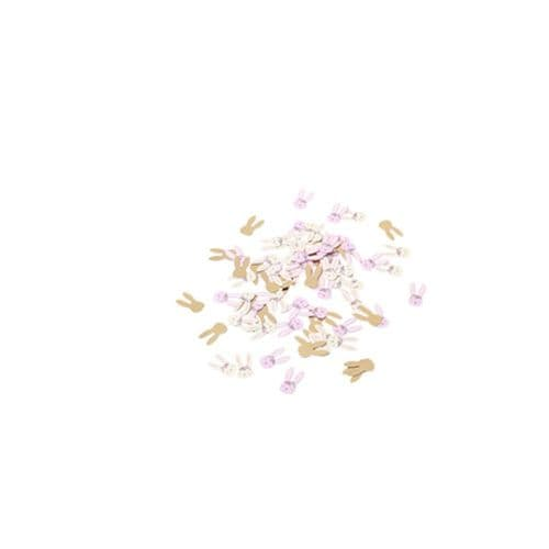 Bunny Rabbit Face Childrens Party Table Confetti x 120 Pieces