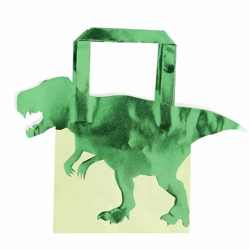Dinosaur Party Bags x 5 Childrens Dino Party