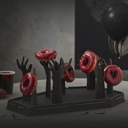 Donut Stand - Halloween Coffin and Zombie Arms