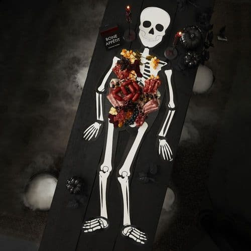 Grazing Board - Halloween Skeleton with Moving Arms Legs