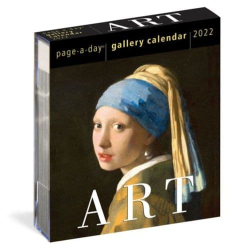 Page-a-Day Art Calendar 2022 A Year of Masterpieces on Your Desk