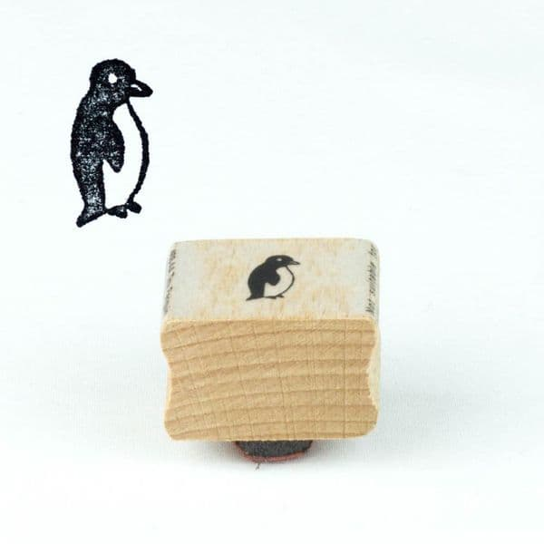 Mini Penguin Rubber Craft Stamp, Craft Ink Stamps, Diy Wedding Favours, Gift Tags, Christmas Craft, Scrapbooking, Animal Penguin Stamp