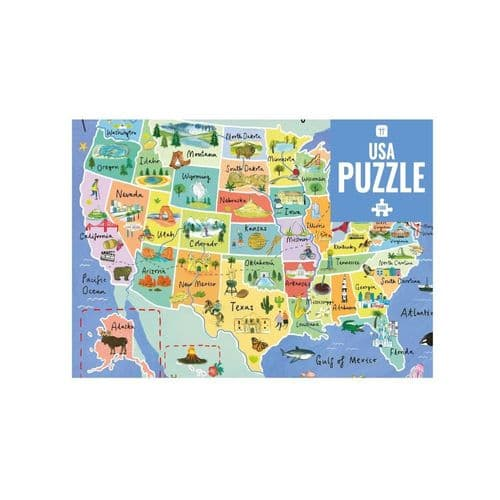 USA Map Puzzle - American Gift - 1000 piece - Game Christmas Gift