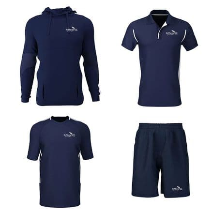St Minver CC Hoodie, Training Tee, Polo, Shorts Package