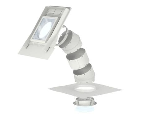 """VELUX 14"""" rigid sun tunnel for pitched roof, tiles 15-60 degrees"""