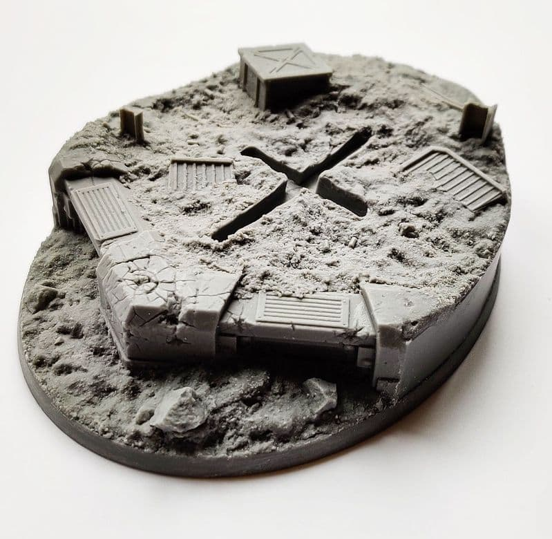 120mm Trench Warfare 'Flyer' Base 1