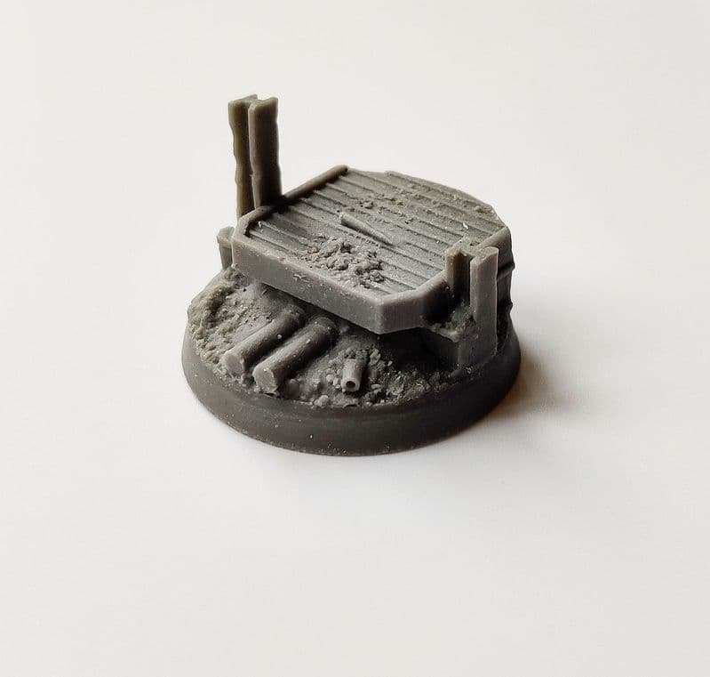 32mm Trench Warfare  Character Base 1
