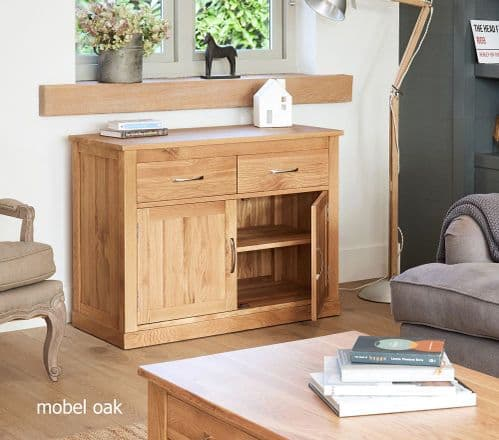 Baumhaus Mobel Oak Sideboard Small