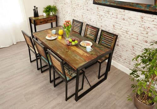 Baumhaus Urban Chic Large Dining Table 180cm