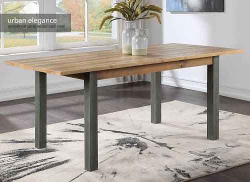 Baumhaus Urban Elegance Reclaimed Extending Dining Table