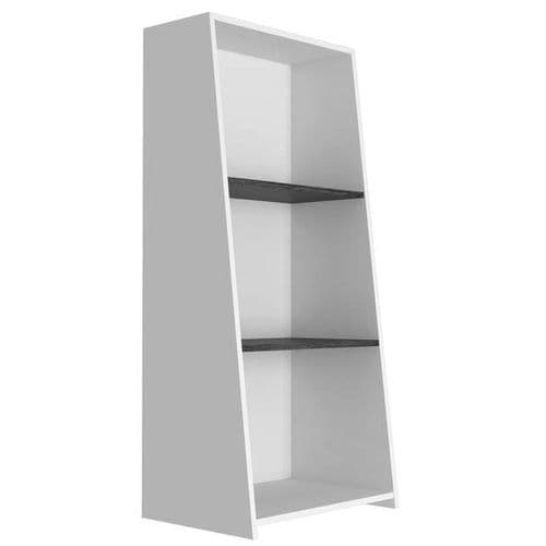 Dallas Low Bookcase With 3 Shelves