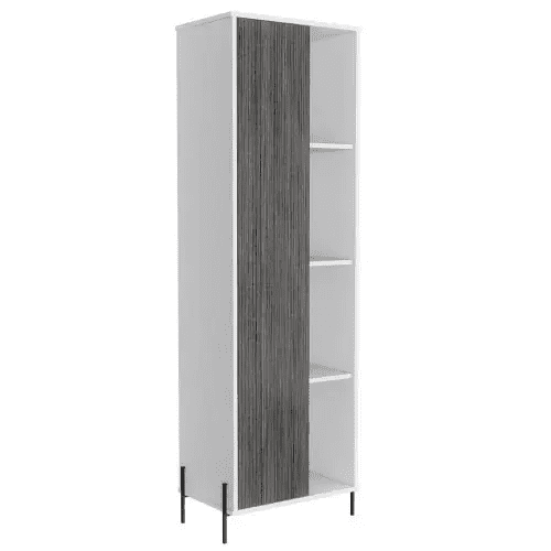 Dallas Tall Storage And Display Cabinet